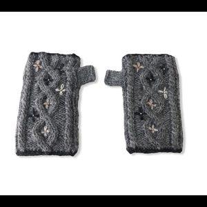 Everest Fashion wool fleece lined fingerless glove